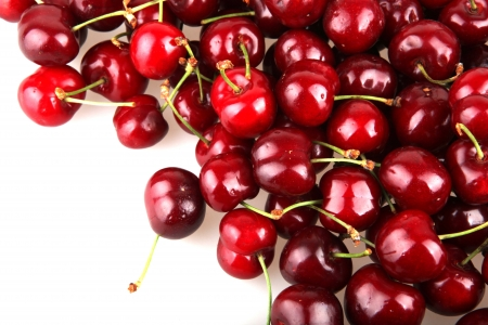 cherry pie: Sweet cherry. Stock Photo