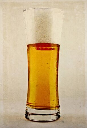 Aged template: beer. photo