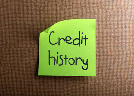 report card: Credit history