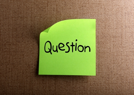 Question Stock Photo - 14377234