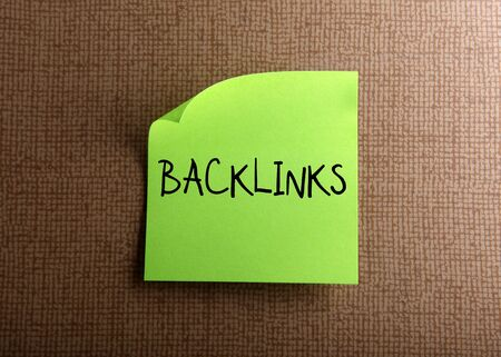 backlink: Backlinks Stock Photo