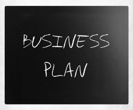 Business plan. photo