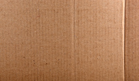 Corrugated cardboard. photo
