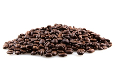 semilla de cafe: Granos de café.
