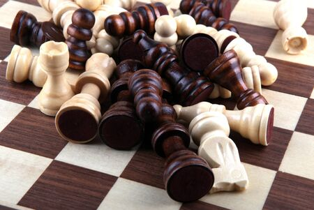 chess piece. photo
