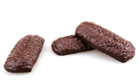 chocolate biscuit. photo