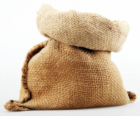 stowing: burlap