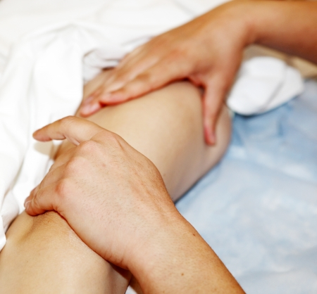 foot massage in the spa salon. Stock Photo - 16657989