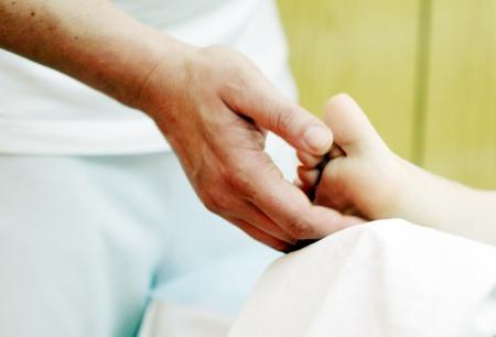 foot massage in the spa salon. Stock Photo - 16657806