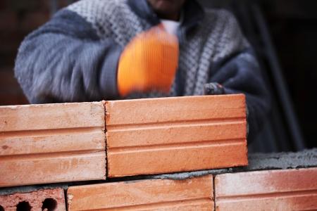 construction mason worker bricklayer.