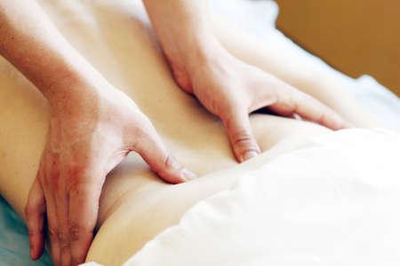 masaje de relajaci�n Foto de archivo - 16751402