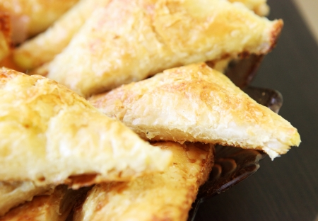 pie with cheese. photo