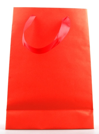 paper shopping bags on white background Stock Photo - 17193277