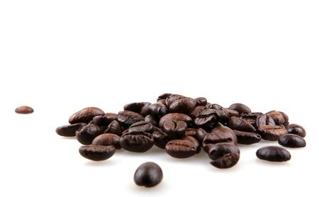 frijoles: Granos de caf?. Foto de archivo