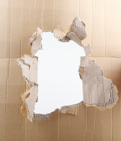 corrugated cardboard photo