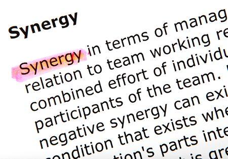 synergy Stock Photo