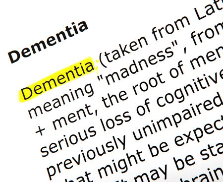 dementiadementia Stock Photo - 18977704
