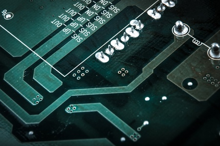 circuit board photo