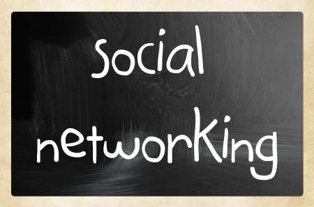 social media - internet networking concept photo