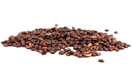 semilla de cafe: granos de café Foto de archivo