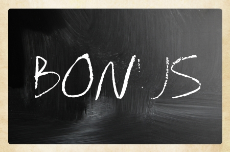 back link: text handwritten with white chalk on a blackboard