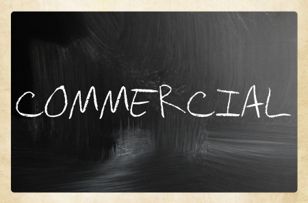 text handwritten with white chalk on a blackboard Stock Photo - 20284356