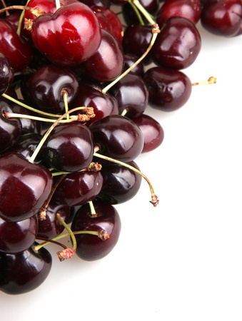 Sweet cherries photo
