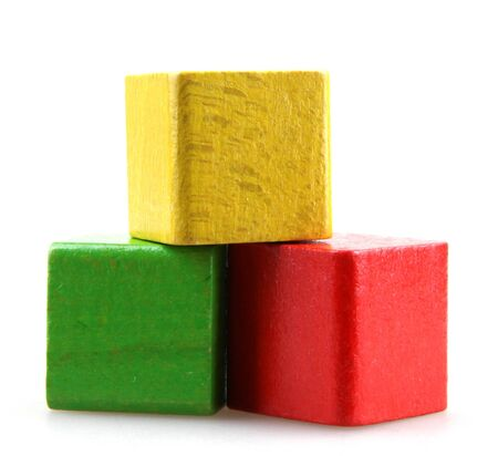 Colorful blocks photo