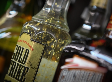boozer: Alcoholic beverages in bottles Editorial