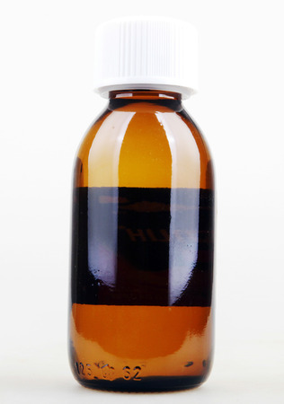 Botella de la medicina Foto de archivo - 22425926