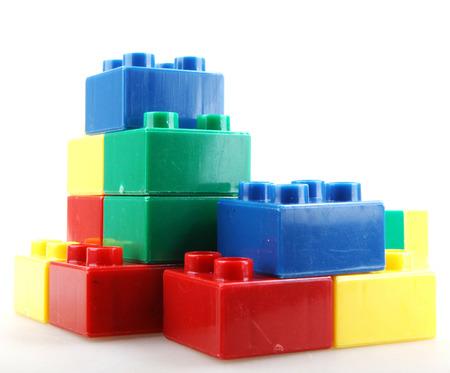 building blocks: Building Blocks Isolated On White