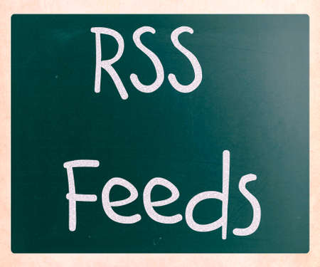 RSS Feeds Stock Photo - 23422631