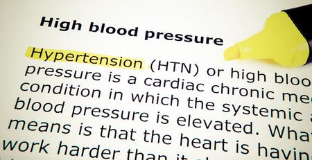 High blood pressure photo