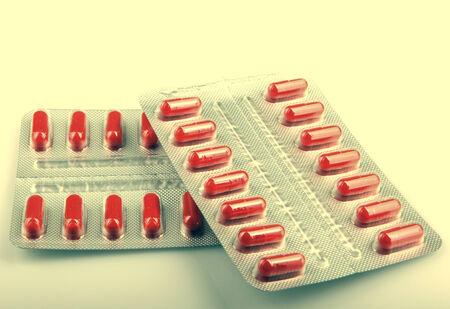 mdma: Packs Of Pills Isolated Stock Photo