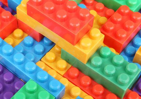 Plastic Building Blocks photo