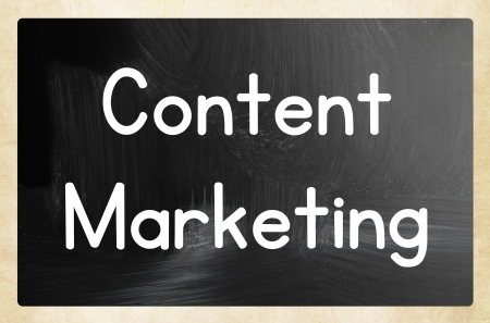 content marketing Stock Photo - 24532193