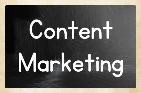 content marketing Stock Photo - 24532193