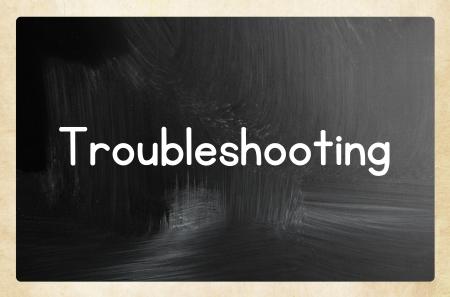 solucion de problemas: concepto de soluci�n de problemas Foto de archivo