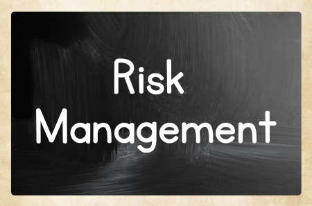 risk management concept photo
