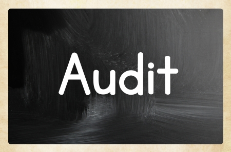 audit concept photo