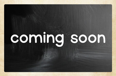relaunch: coming soon concept