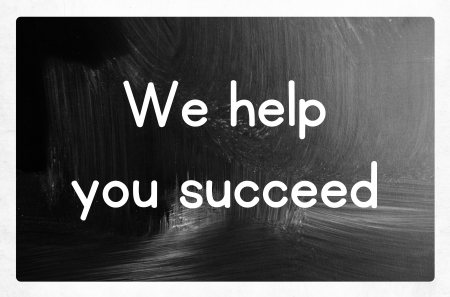 we help you succeed 版權商用圖片