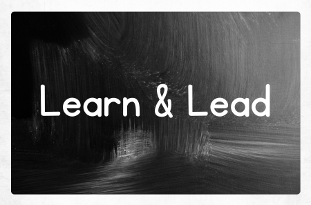 learn and lead concept photo