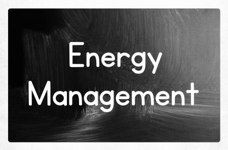 concept de gestion de l'énergie