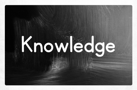 knowledge concept photo