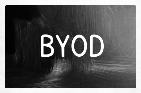 byod concept - bring your own device photo