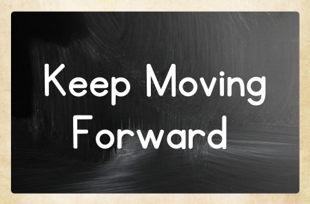 resilience: keep moving forward