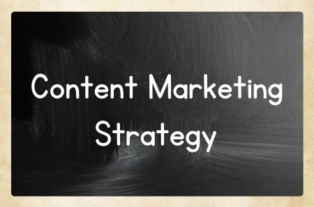 content marketing strategy Stockfoto