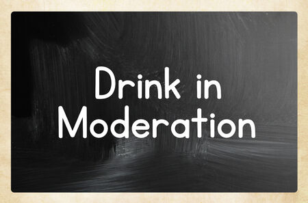 matiging: drink in moderation