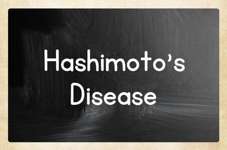 iodine: hashimotos disease Stock Photo